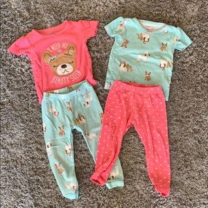 Just One You by Carter's puppy jammies